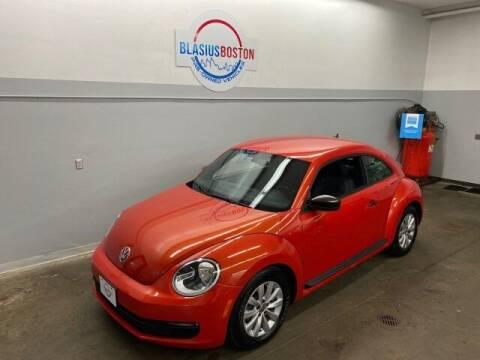 2016 Volkswagen Beetle for sale at WCG Enterprises in Holliston MA