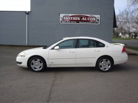 2007 Chevrolet Impala for sale at Motion Autos in Longview WA