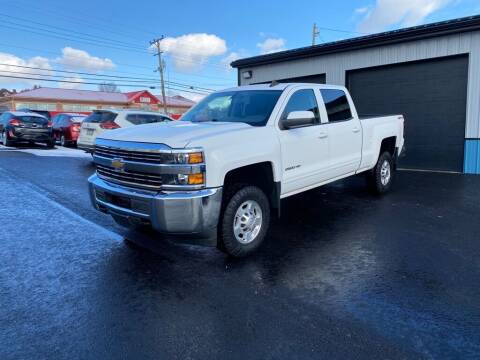 2015 Chevrolet Silverado 2500HD for sale at Sisson Pre-Owned in Uniontown PA
