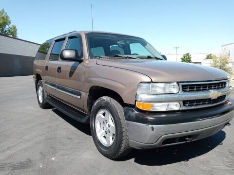 2004 Chevrolet Suburban for sale at AUTOMOTIVE SOLUTIONS in Salt Lake City UT