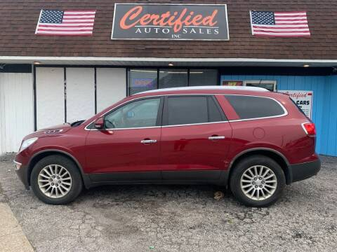2011 Buick Enclave for sale at Certified Auto Sales, Inc in Lorain OH