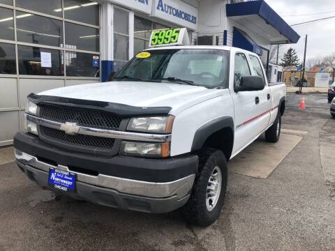 2004 Chevrolet Silverado 2500HD for sale at Jack E. Stewart's Northwest Auto Sales, Inc. in Chicago IL