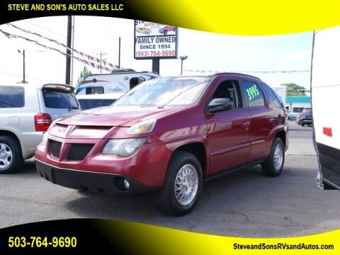 2005 Pontiac Aztek for sale at Steve & Sons Auto Sales in Happy Valley OR