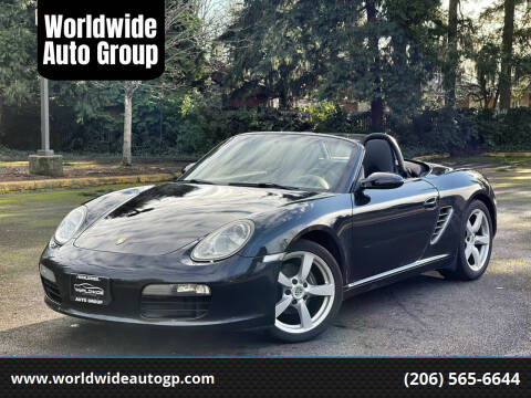 2008 Porsche Boxster for sale at Worldwide Auto Group in Auburn WA