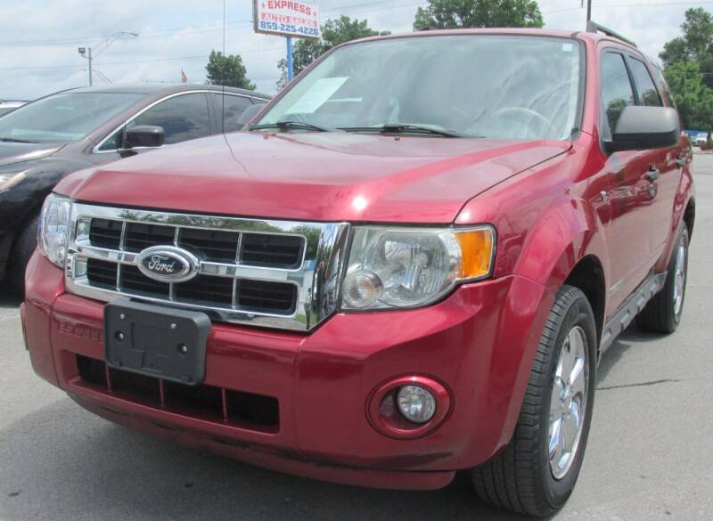 2008 Ford Escape for sale at Express Auto Sales in Lexington KY