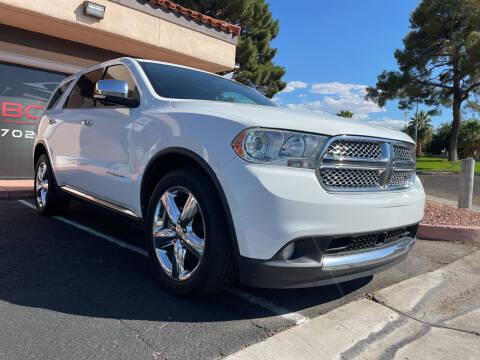 2013 Dodge Durango for sale at Boktor Motors in Las Vegas NV
