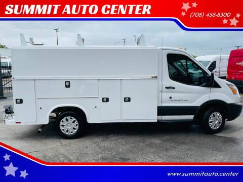 2018 Ford Transit Cutaway for sale at SUMMIT AUTO CENTER in Summit IL