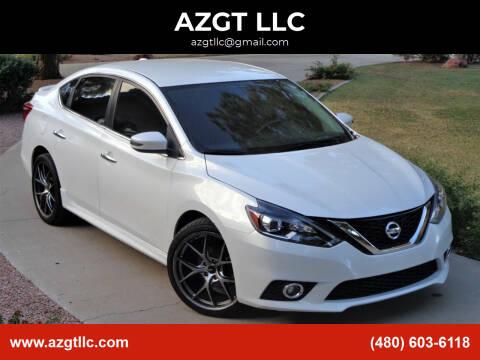 2017 Nissan Sentra for sale at AZGT LLC in Mesa AZ