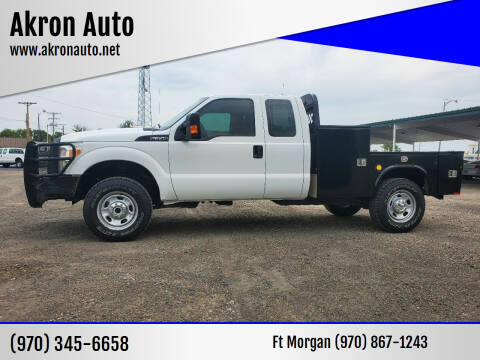 2014 Ford F-350 Super Duty for sale at Akron Auto in Akron CO
