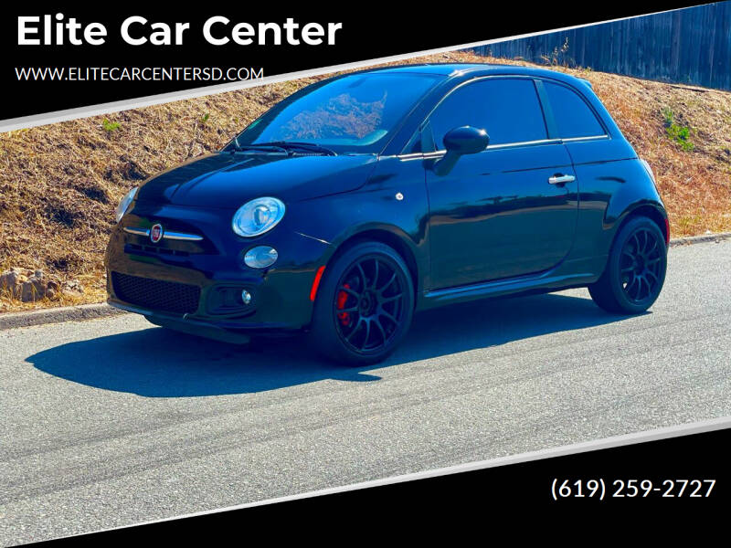 2016 FIAT 500 for sale at Elite Car Center in Spring Valley CA