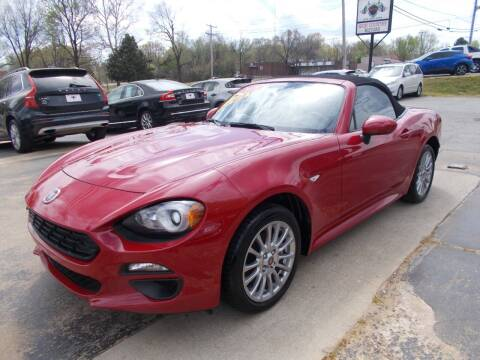 2018 FIAT 124 Spider for sale at High Country Motors in Mountain Home AR
