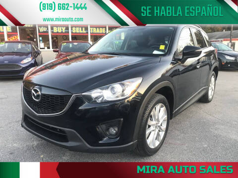 2015 Mazda CX-5 for sale at Mira Auto Sales in Raleigh NC