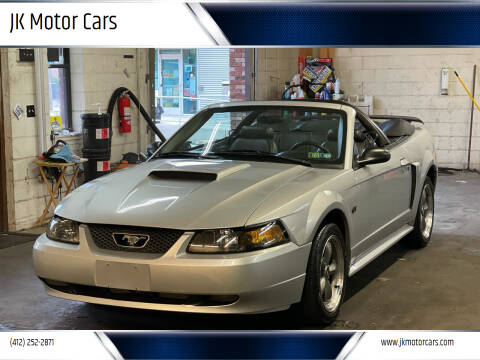 2003 Ford Mustang for sale at JK Motor Cars in Pittsburgh PA