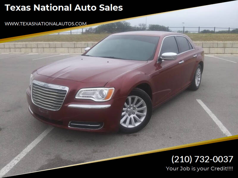 2014 Chrysler 300 for sale at Texas National Auto Sales in San Antonio TX