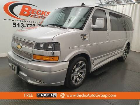 2018 Chevrolet Express Cargo for sale at Becks Auto Group in Mason OH