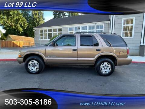 2005 Chevrolet Blazer for sale at LOT 99 LLC in Milwaukie OR