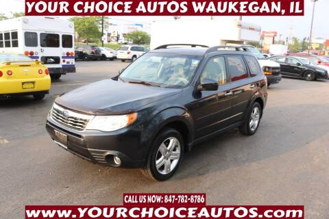 2009 Subaru Forester for sale at Your Choice Autos - Waukegan in Waukegan IL