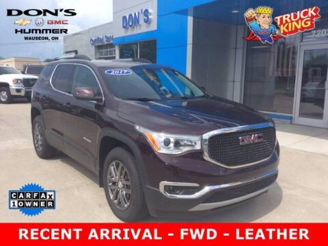 2017 GMC Acadia for sale at DON'S CHEVY, BUICK-GMC & CADILLAC in Wauseon OH