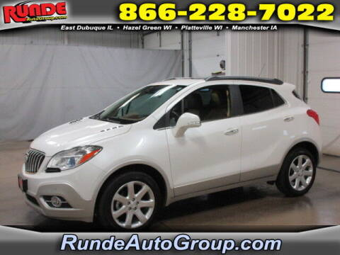 2015 Buick Encore for sale at Runde Chevrolet in East Dubuque IL