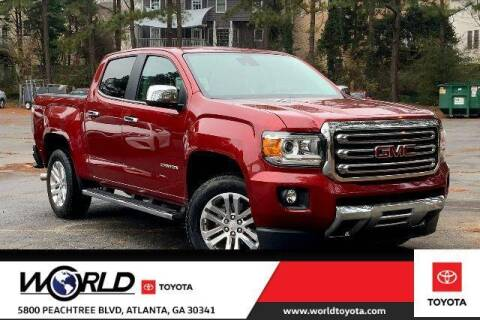 2018 GMC Canyon for sale at CU Carfinders in Norcross GA