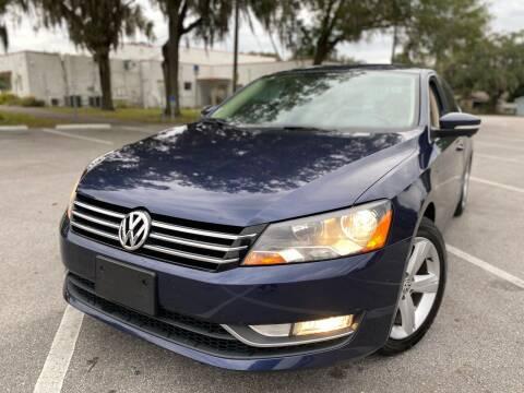 2015 Volkswagen Passat for sale at CHECK  AUTO INC. in Tampa FL