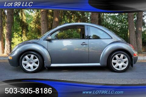 2003 Volkswagen New Beetle for sale at LOT 99 LLC in Milwaukie OR