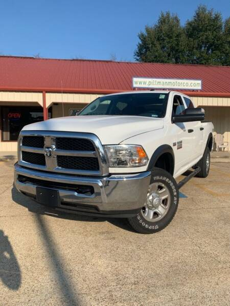 2018 RAM Ram Pickup 2500 for sale at PITTMAN MOTOR CO in Lindale TX
