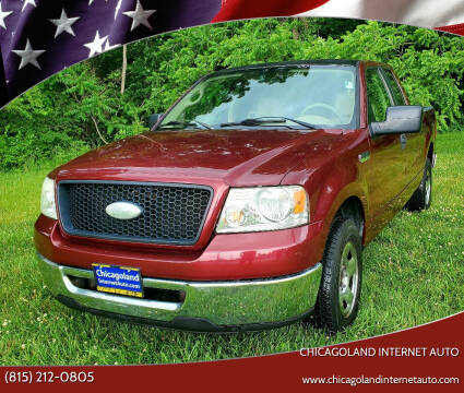 2006 Ford F-150 for sale at Chicagoland Internet Auto - 410 N Vine St New Lenox IL, 60451 in New Lenox IL