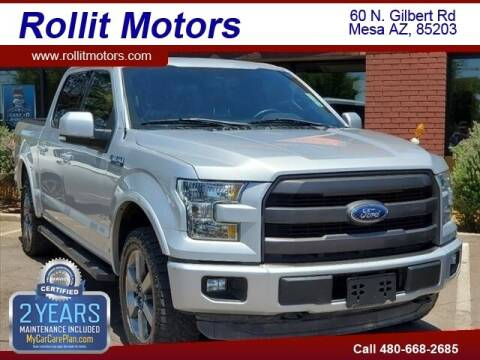 2016 Ford F-150 for sale at Rollit Motors in Mesa AZ