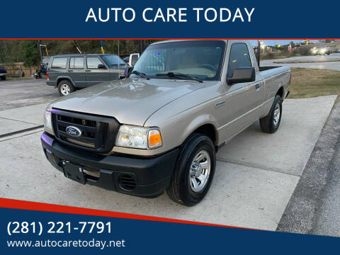 2008 Ford Ranger for sale at AUTO CARE TODAY in Spring TX