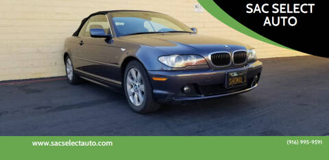 2005 BMW 3 Series for sale at SAC SELECT AUTO in Sacramento CA