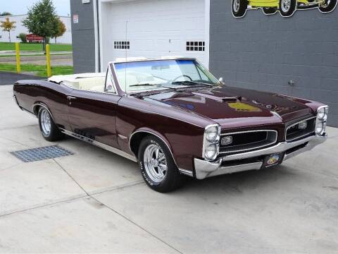 1966 Pontiac GTO for sale at Great Lakes Classic Cars & Detail Shop in Hilton NY