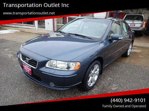 2009 Volvo S60 for sale at Transportation Outlet Inc in Eastlake OH