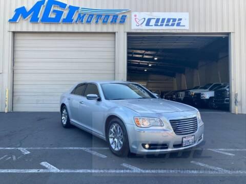 2012 Chrysler 300 for sale at MGI Motors in Sacramento CA