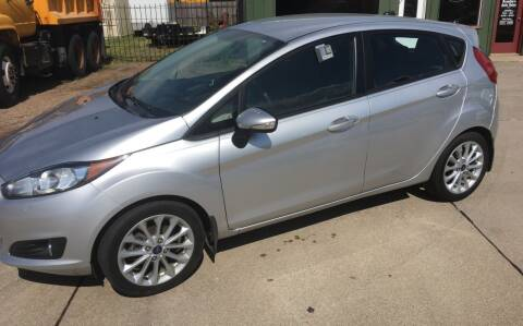 2014 Ford Fiesta for sale at Bramble's Auto Sales in Hastings NE