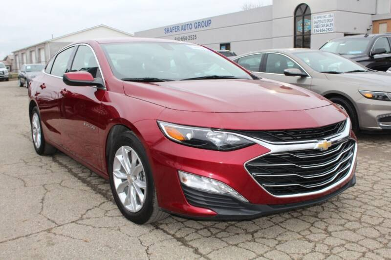 2020 Chevrolet Malibu for sale at SHAFER AUTO GROUP in Columbus OH