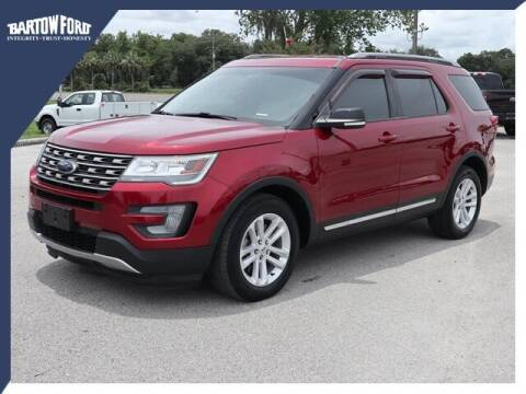 2017 Ford Explorer for sale at BARTOW FORD CO. in Bartow FL