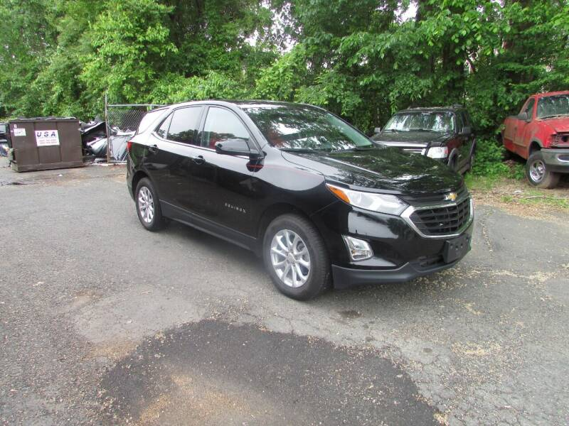 2018 Chevrolet Equinox for sale at Nutmeg Auto Wholesalers Inc in East Hartford CT
