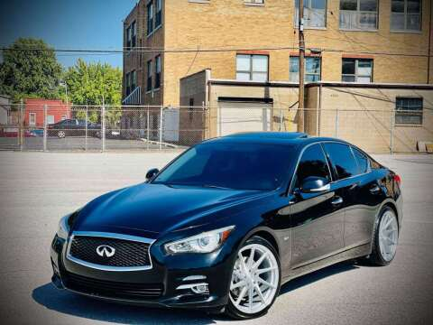 2017 Infiniti Q50 for sale at ARCH AUTO SALES in Saint Louis MO