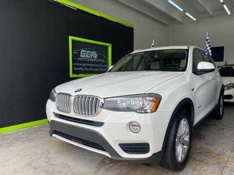 2017 BMW X3 for sale at GCR MOTORSPORTS in Hollywood FL
