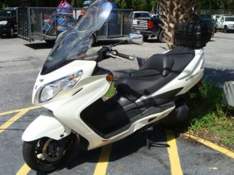 2012 Suzuki Burgman 400cc for sale at VANS CARS AND TRUCKS in Brooksville FL