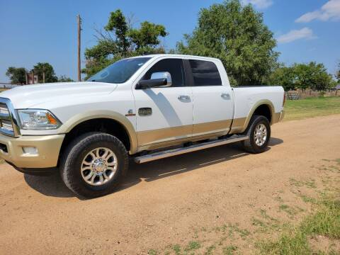 2016 RAM Ram Pickup 2500 for sale at TNT Auto in Coldwater KS