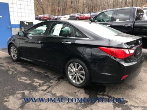 2014 Hyundai Sonata for sale at J & M Automotive in Naugatuck CT