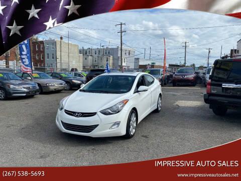 2013 Hyundai Elantra for sale at Impressive Auto Sales in Philadelphia PA