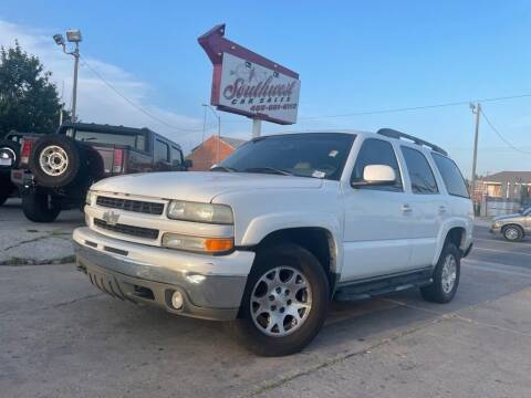 2003 Chevrolet Tahoe for sale at Southwest Car Sales in Oklahoma City OK