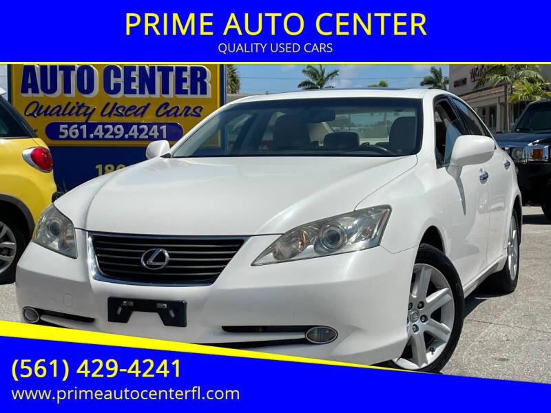 2007 Lexus ES 350 for sale at PRIME AUTO CENTER in Palm Springs FL