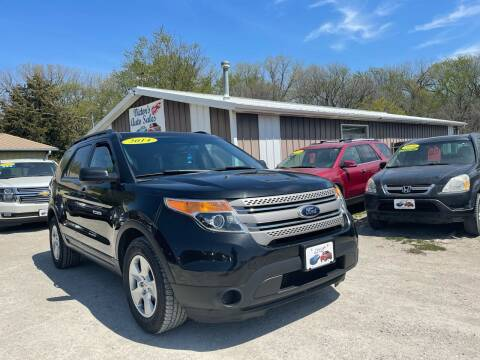 2014 Ford Explorer for sale at Victor's Auto Sales Inc. in Indianola IA