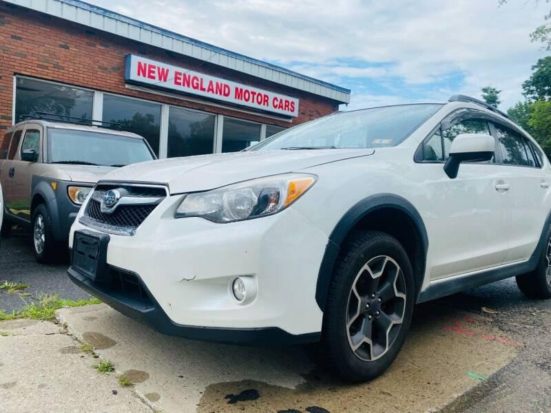 2013 Subaru XV Crosstrek for sale at New England Motor Cars in Springfield MA