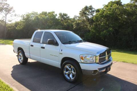 2007 Dodge Ram Pickup 1500 for sale at Clear Lake Auto World in League City TX