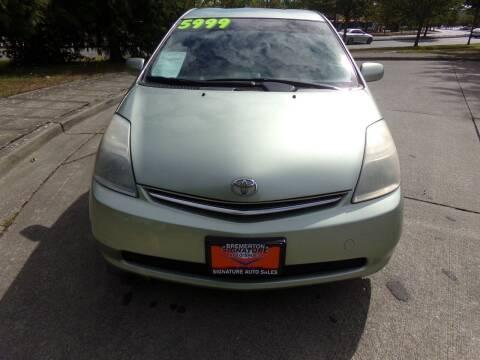2006 Toyota Prius for sale at Signature Auto Sales in Bremerton WA